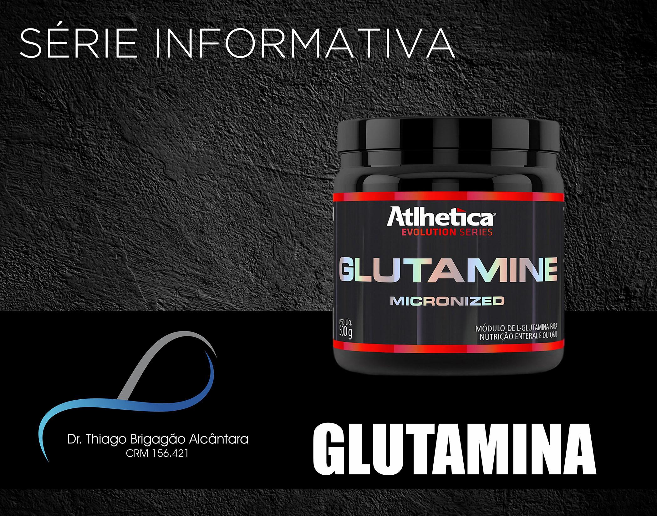 Série Suplementos Alimentares - Glutamina