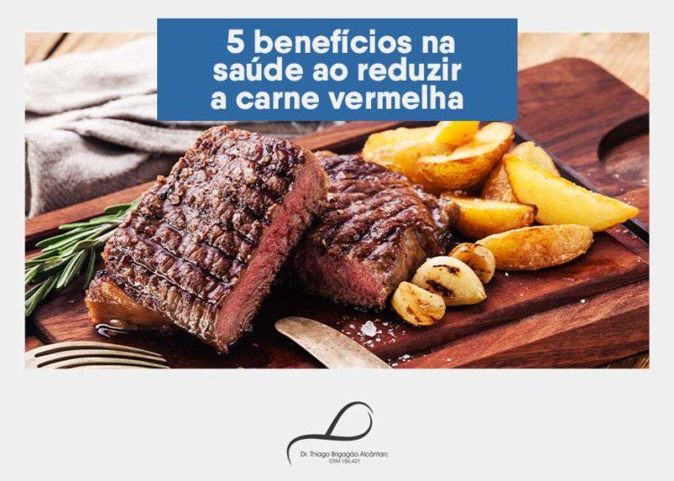 5 benefícios na saúde ao reduzir a carne vermelha